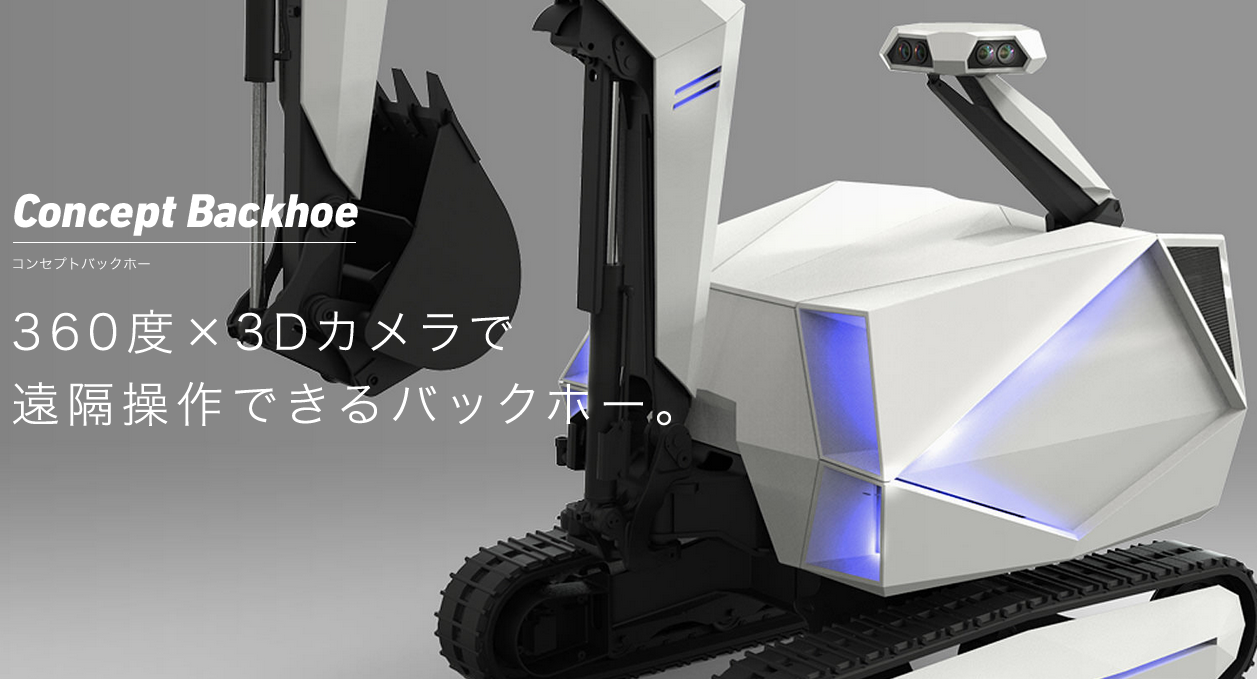 Tele-presence system for contstruction robot